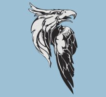 Eagle Head T_Shirt by Walter Colvin