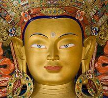 Buddha Face by idoavr