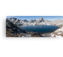 Sacred lake  Canvas Print
