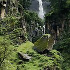 Waterfall at Vashisht, India by idoavr