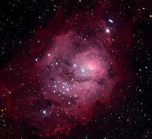 Messier 8, The Lagoon Nebula by Stuart Thomson