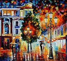 LONELY COUPLE by Leonid  Afremov