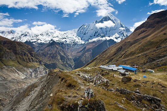 Annapurna Base Camp by idoavr