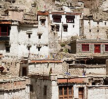 Monastery in northen India  by idoavr
