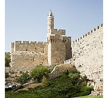 Tower of David, Jerusalem Photographic Print