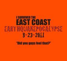 EARTHQUAKEPOCALYPSE 2011 Kids Clothes