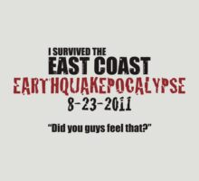 EARTHQUAKEPOCALYPSE 2011 by Ryan Sawyer