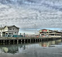 Station Pier #1 by Steven  Agius