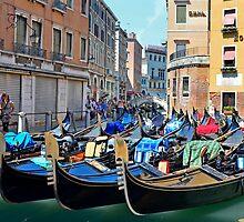 A Kiss in Venice by Martina Fagan