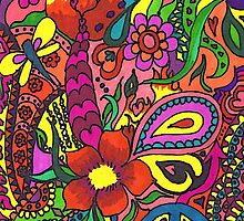 Sharpie Fun Doodling by Charldia