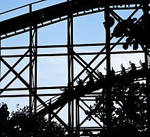 Roller Coaster silhouette. by imagic