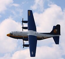 "C130 Hercules, Blue Angels ""Fat Albert"", Rochester, NY Airshow by rogerlloyd"