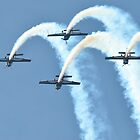 The Blades Display Team - Southport Airshow 2011 by merlin676