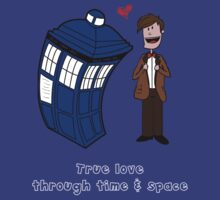 True love through time& space T-Shirt