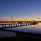 Silence - Belmont Bay Wharf  by Park Lane  Photography