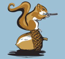 Back Off!  (Squirrel Nut) by monkeyjunkshop