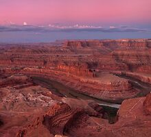 Dead Horse Point Sunrise (cropped version) by Wojciech Dabrowski