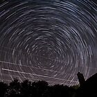 Star Trails on the Flight Path by SomeGuyInNJ
