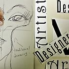 Artist Vs Design 01 by Christina Rodriguez