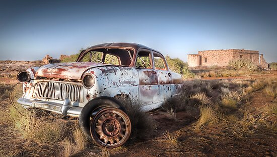 Abandoned Old Car by Shannon Rogers