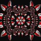 Peppermint Abstract Fractal by Archetypus