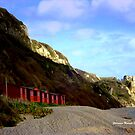 Branscombe in Autumn by Charmiene Maxwell-batten