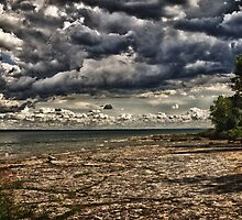Darkening Sky by JKKimball