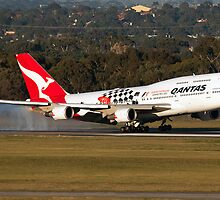 Formula One Livery Qantas by Mehdi Nazarinia