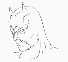 Batman LineArt by SuckerPUNCH