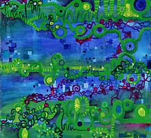 Nerdly Art year Round by Regina Valluzzi