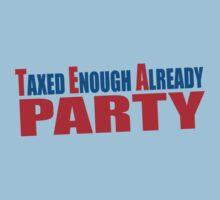 Tea Party Shirt Kids Clothes