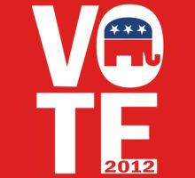 Vote Republican 2012 by RepublicanShirt