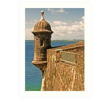 Castillo San Felipe del Morro - 2 Art Print