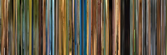 Moviebarcode: Primer (2004) by moviebarcode