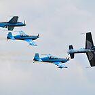 The Blades Display Team - RAF Waddington Airshow 2011 by merlin676