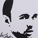 Karl Pilkington by Ramart