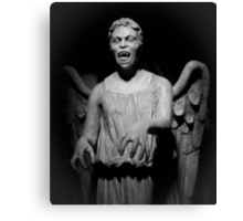 Doctor Who - Don't blink, whatever you do, don't blink Canvas Print