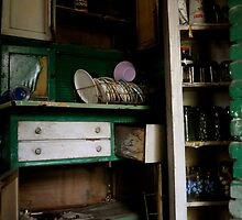The cupboards were bare. by ashley hutchinson