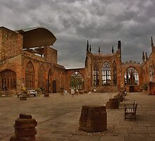 Coventry Cathedral by Darrell Cross