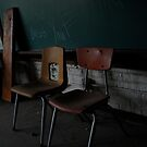School Chairs by ashley hutchinson