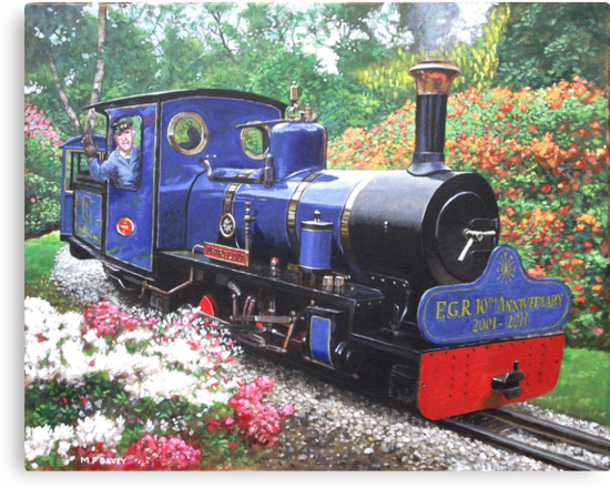 exbury steam railway 10th anniversary  by martyee
