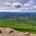 Adirondacks - View from Cascade Mountain by Michael Schaefer