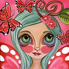 &quot;Red Butterfly Fairy&quot;  by Jaz Higgins
