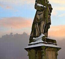 Allan Ramsay Statue, Princes Street, Edinburgh. by asm1