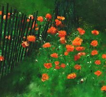 Wild Poppy Field by CrowningGlory