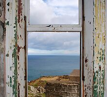 Torr Head Coast Guard Station,  Co. Antrim. by Sarah Cowan