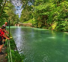 River Partnach, Garmisch, Germany by Daidalos