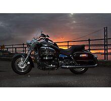 Sunset Rider Photographic Print