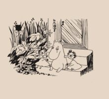Moomintroll with Thingumy and Bob by Snufkin