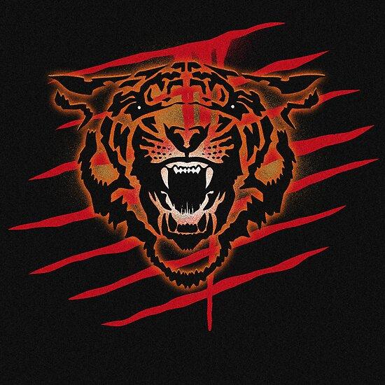 Tiger Blood Evil Slash Drip by rolandhill90